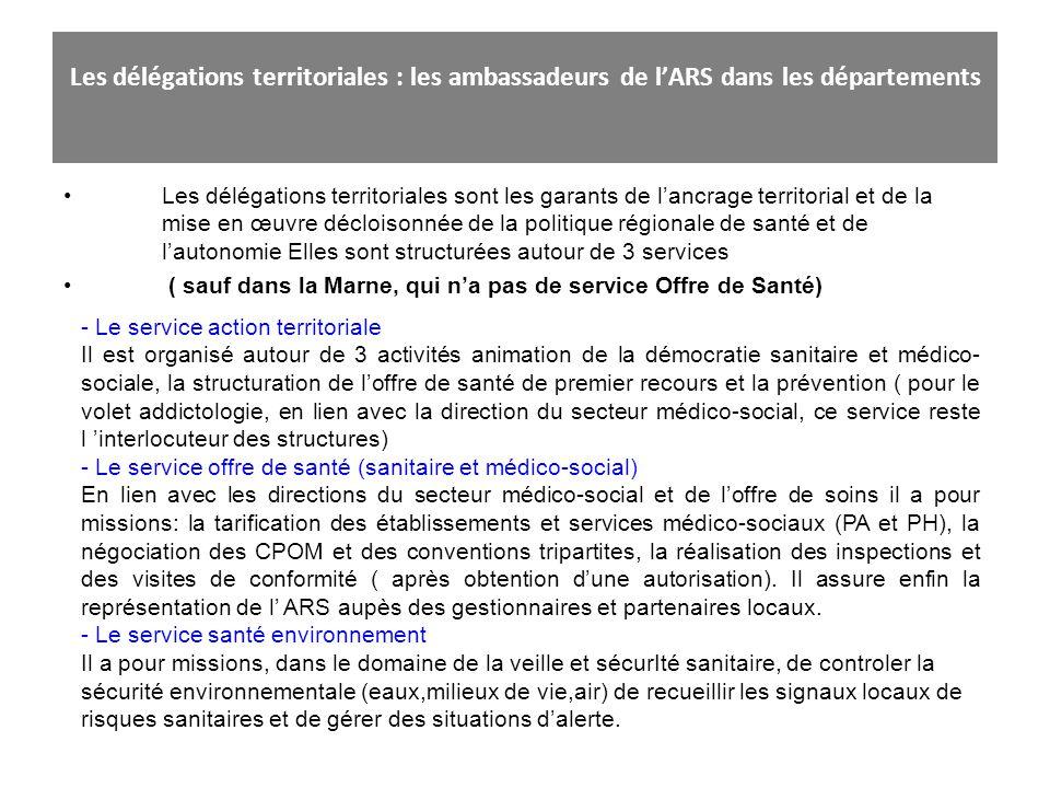 Les délégations territoriales : les ambassadeurs de l'ARS dans les départements