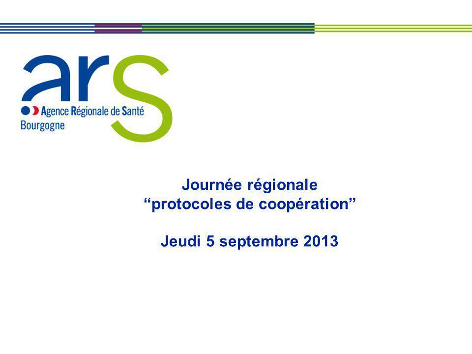 Journée régionale protocoles de coopération Jeudi 5 septembre 2013