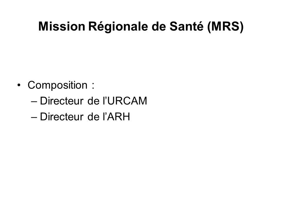 Mission Régionale de Santé (MRS)