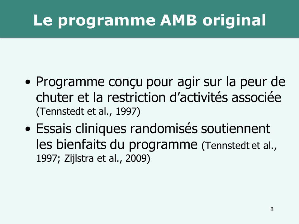 Le programme AMB original
