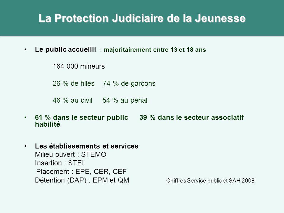 La Protection Judiciaire de la Jeunesse