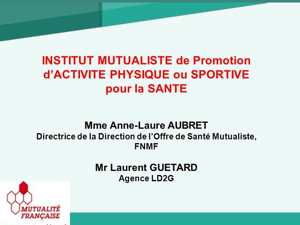 INSTITUT MUTUALISTE de Promotion d'ACTIVITE PHYSIQUE ou SPORTIVE