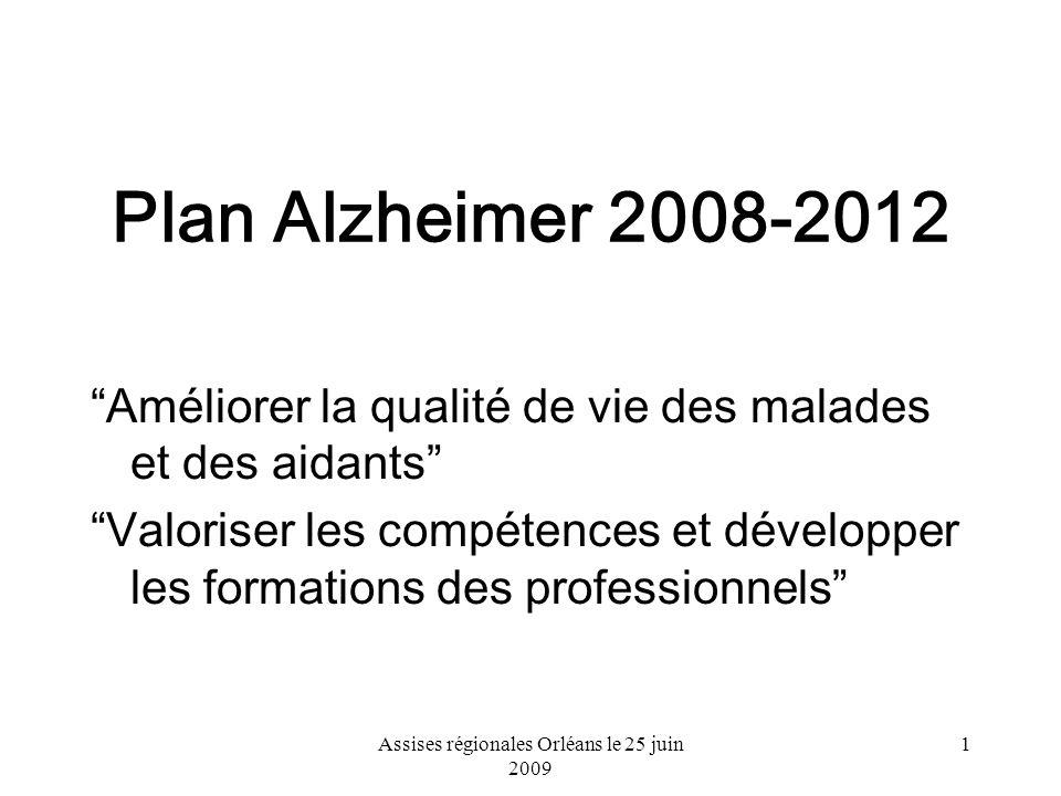 Assises régionales Orléans le 25 juin 2009
