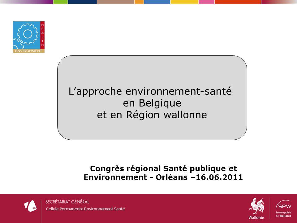 Congrès régional Santé publique et Environnement - Orléans –16.06.2011