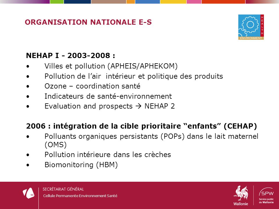 Organisation nationale E-S
