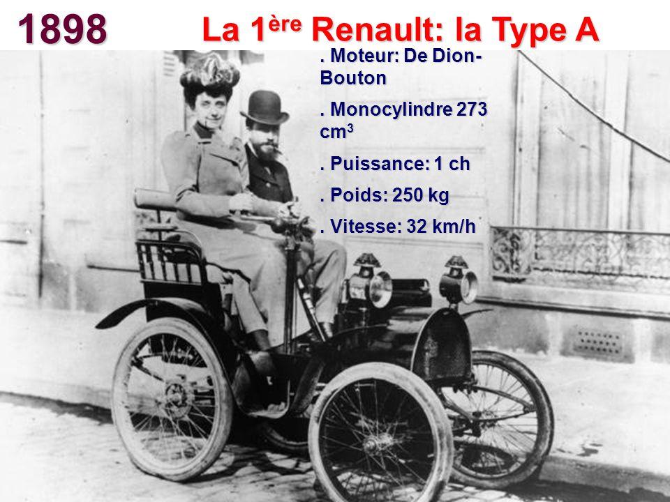 La 1ère Renault: la Type A