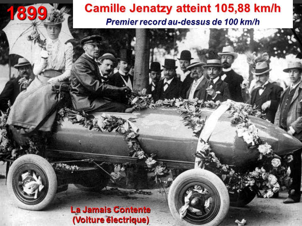 1899 Camille Jenatzy atteint 105,88 km/h