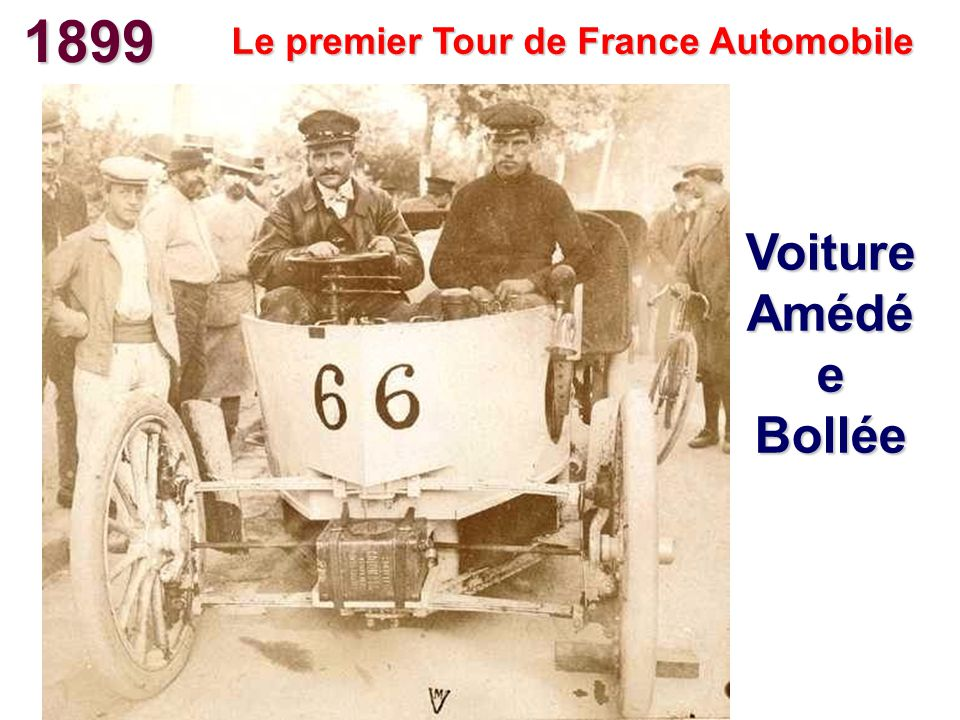 Le premier Tour de France Automobile