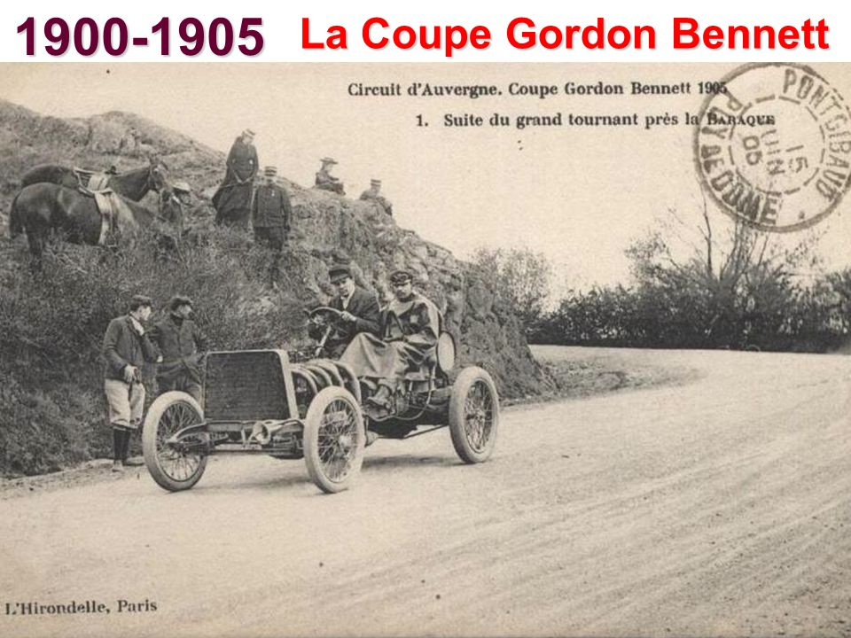 La Coupe Gordon Bennett