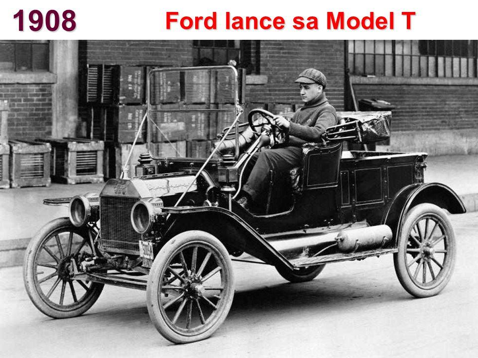 1908 Ford lance sa Model T