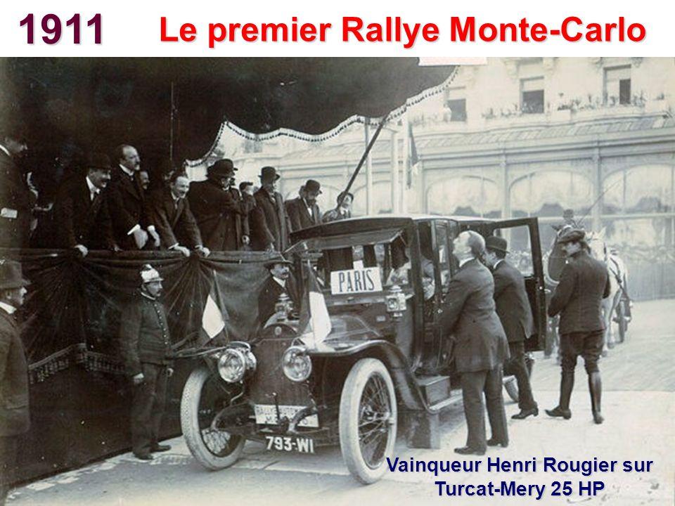 1911 Le premier Rallye Monte-Carlo