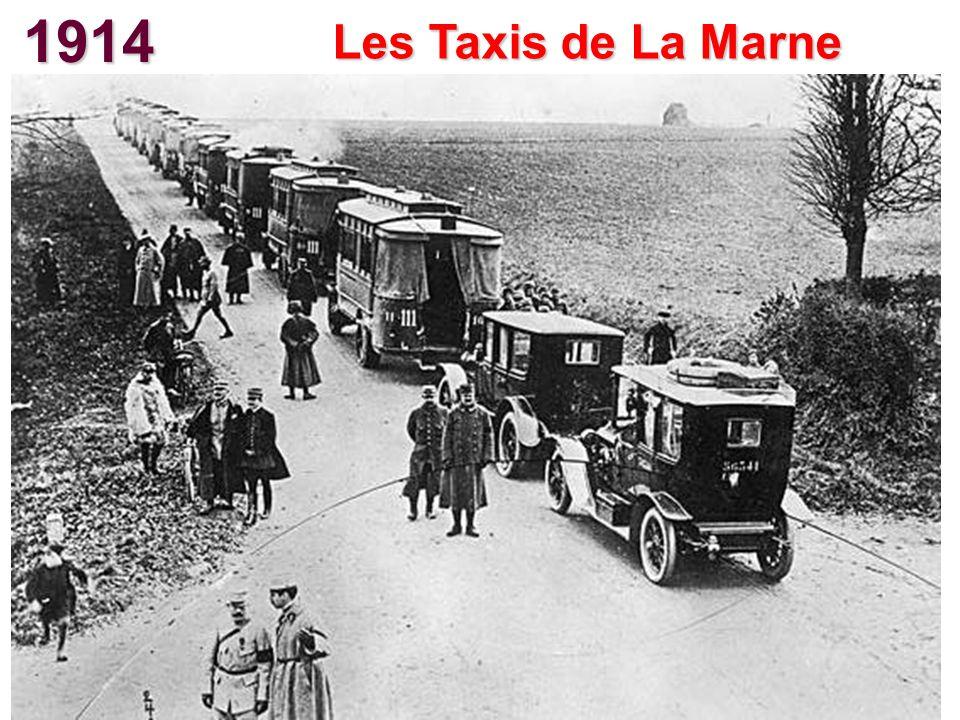 1914 Les Taxis de La Marne