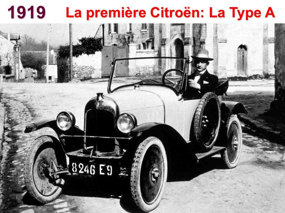 La première Citroën: La Type A
