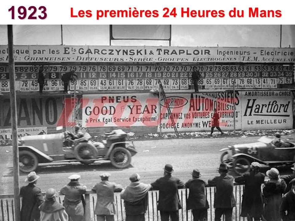 Les premières 24 Heures du Mans