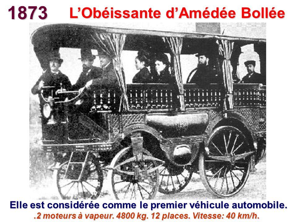 1873 L'Obéissante d'Amédée Bollée