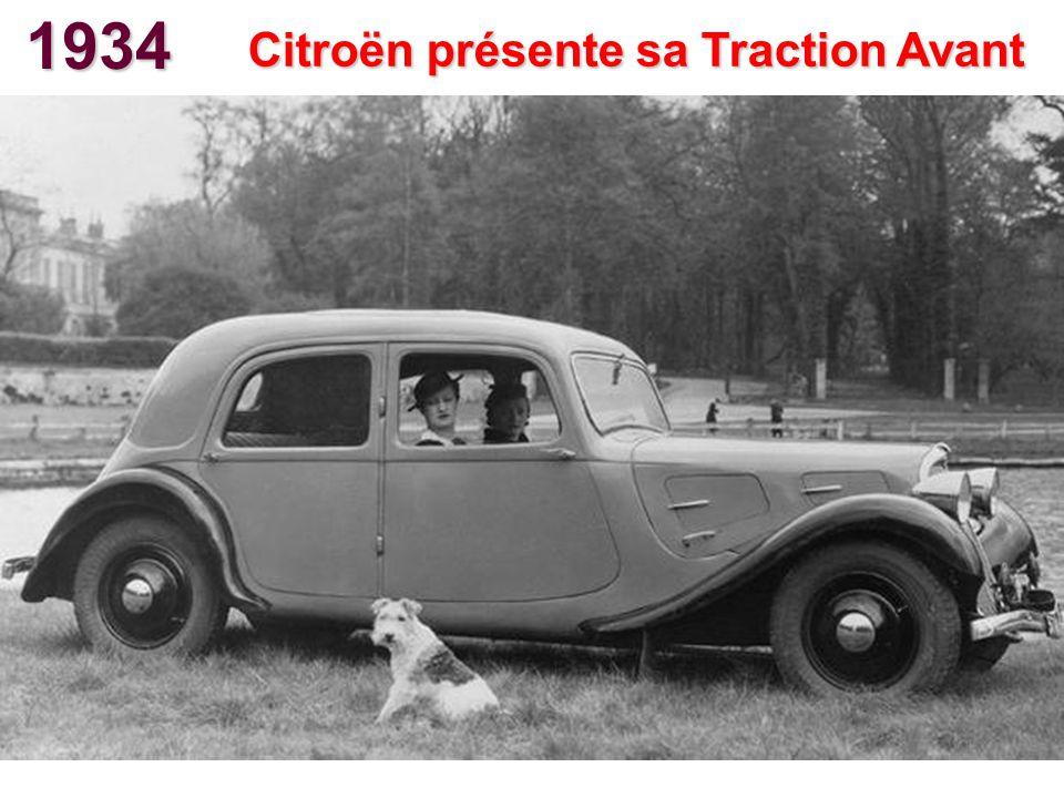 Citroën présente sa Traction Avant