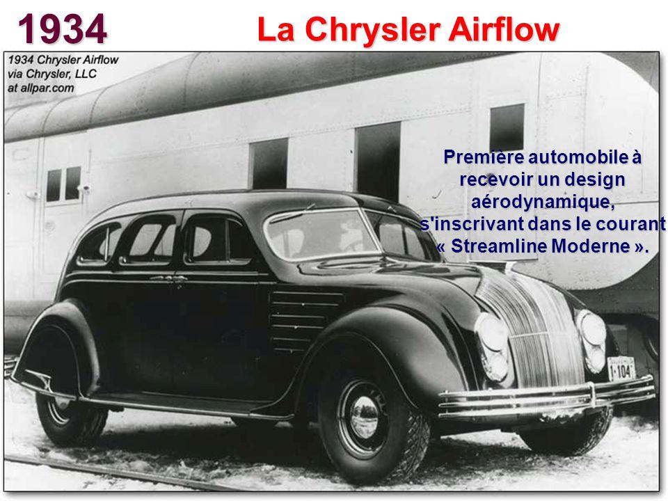 1934 La Chrysler Airflow.