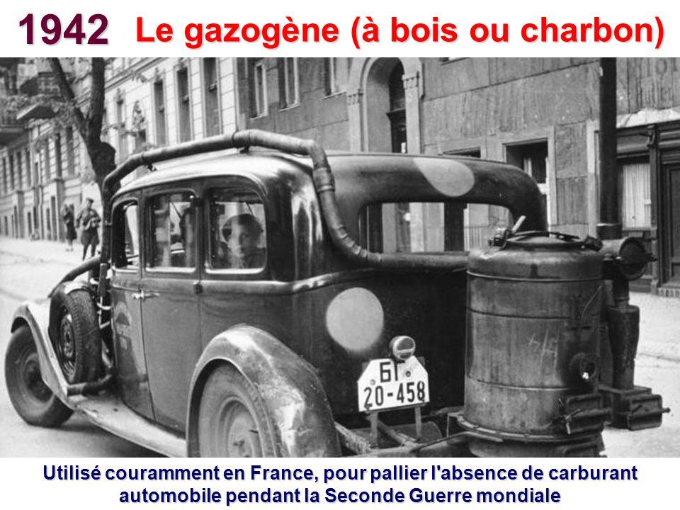 Le gazogène (à bois ou charbon)