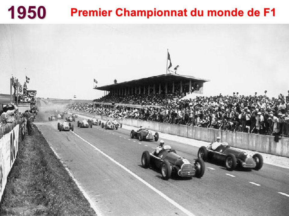 Premier Championnat du monde de F1