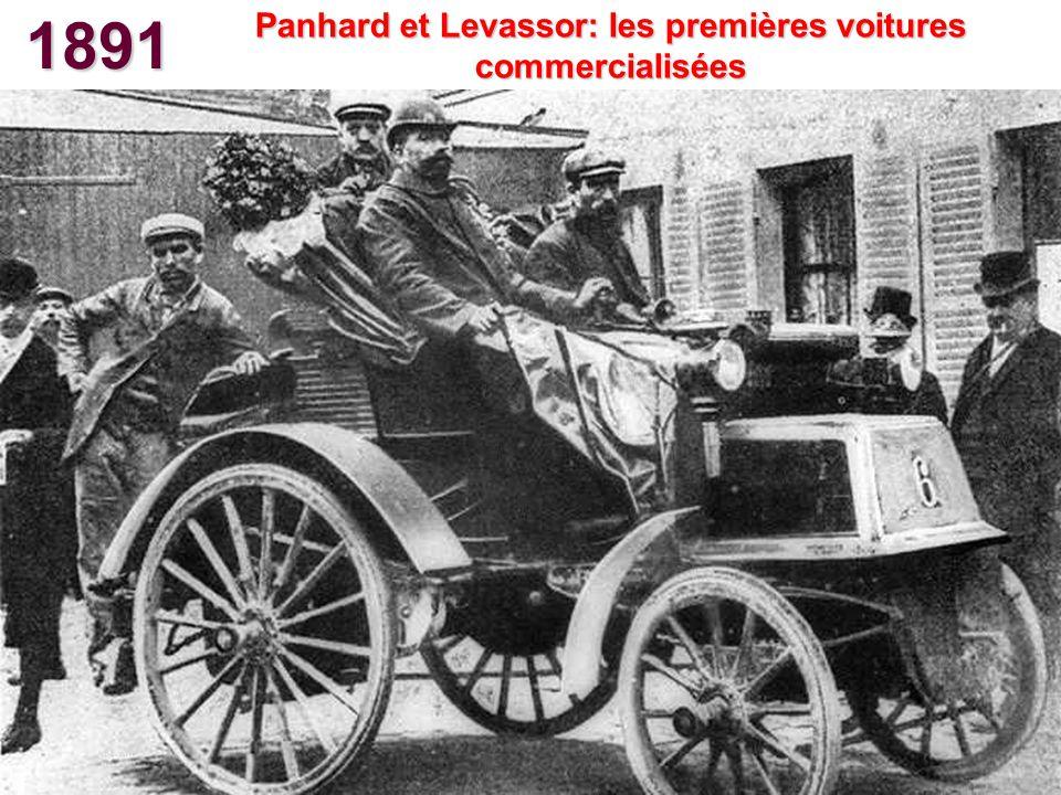 Panhard et Levassor: les premières voitures commercialisées