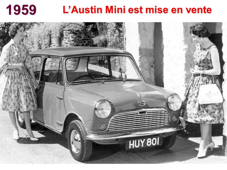 L'Austin Mini est mise en vente