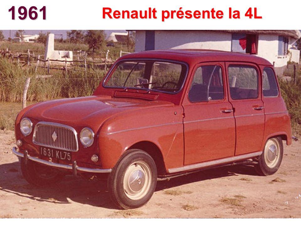 1961 Renault présente la 4L