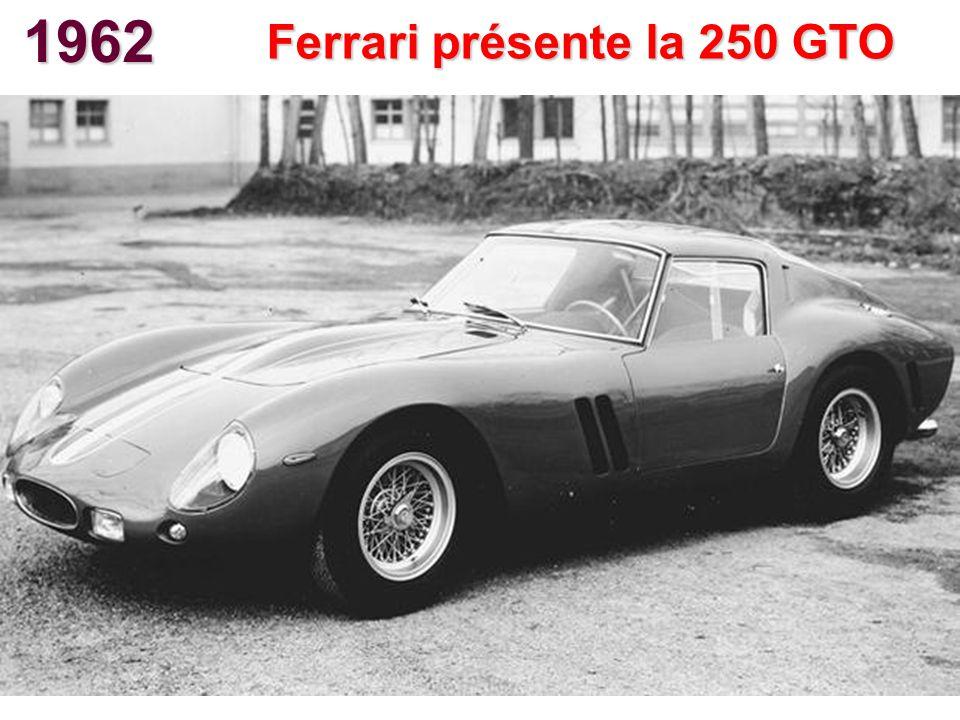 Ferrari présente la 250 GTO