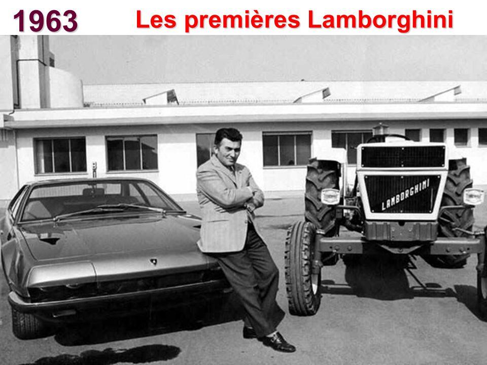 Les premières Lamborghini