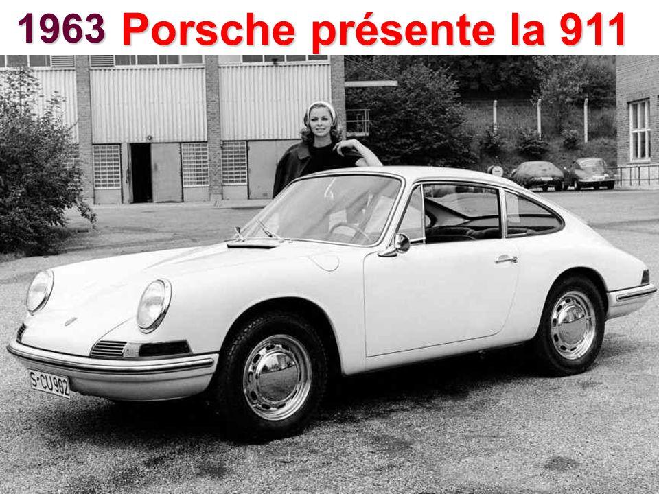 1963 Porsche présente la 911