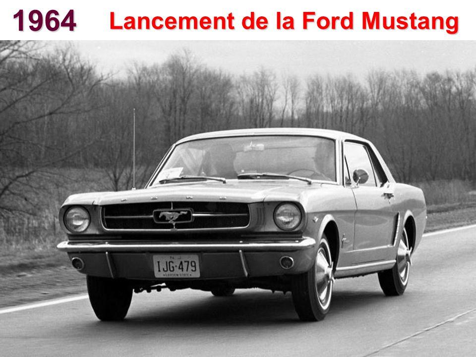 Lancement de la Ford Mustang