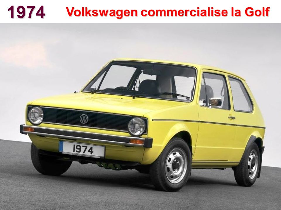 Volkswagen commercialise la Golf