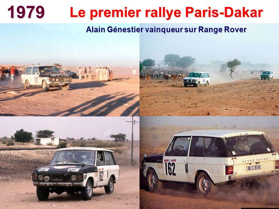 1979 Le premier rallye Paris-Dakar