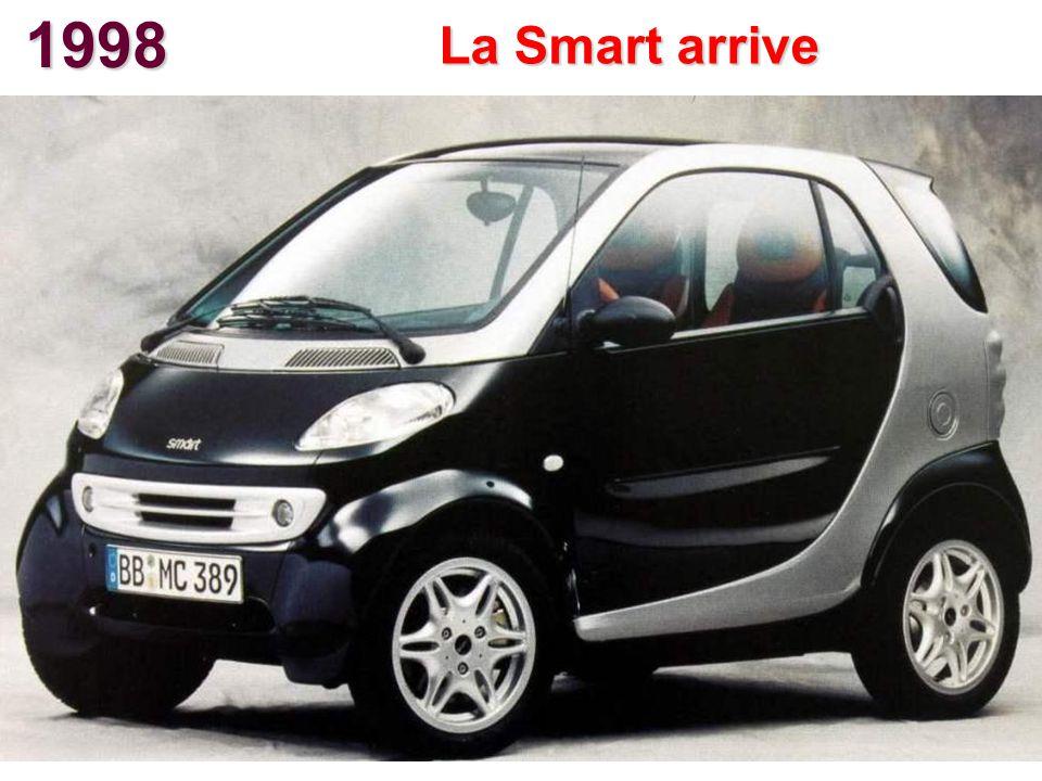 1998 La Smart arrive