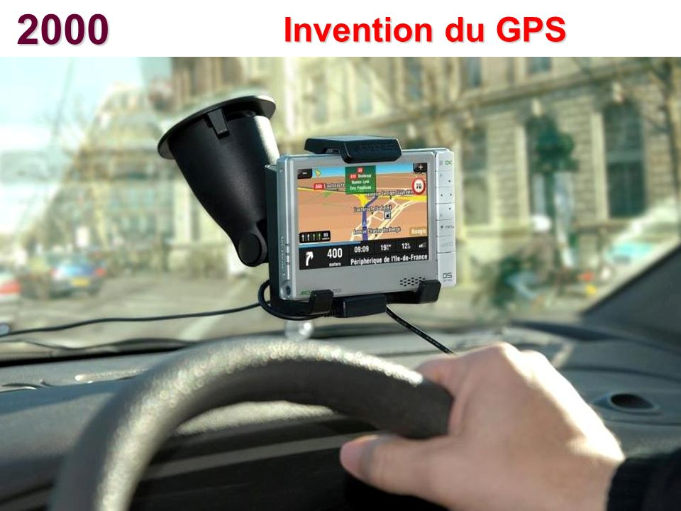 2000 Invention du GPS