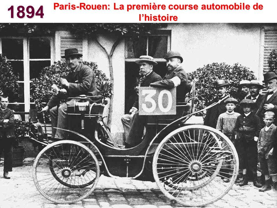 Paris-Rouen: La première course automobile de l'histoire