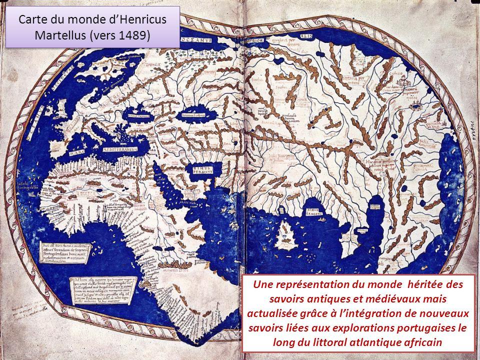 Carte du monde d'Henricus Martellus (vers 1489)