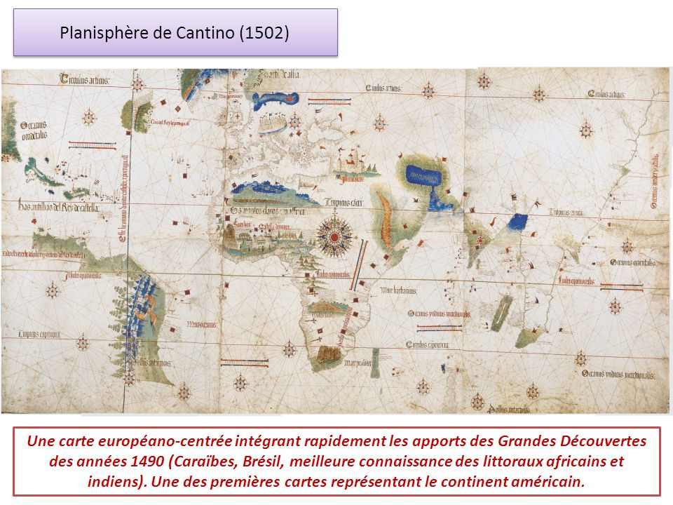 Planisphère de Cantino (1502)