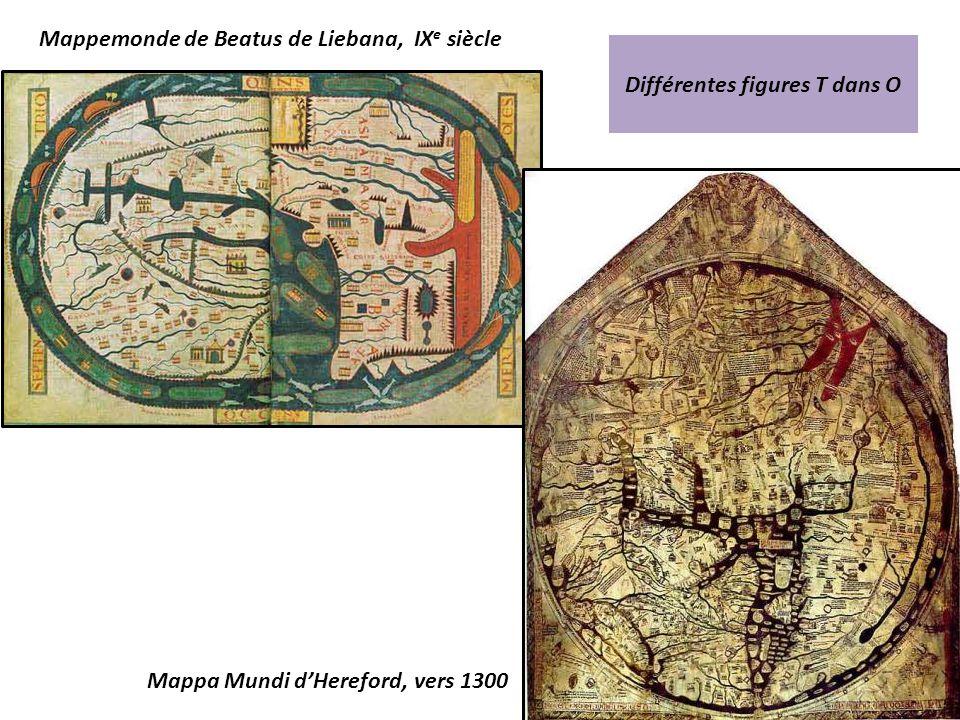 Mappemonde de Beatus de Liebana, IXe siècle