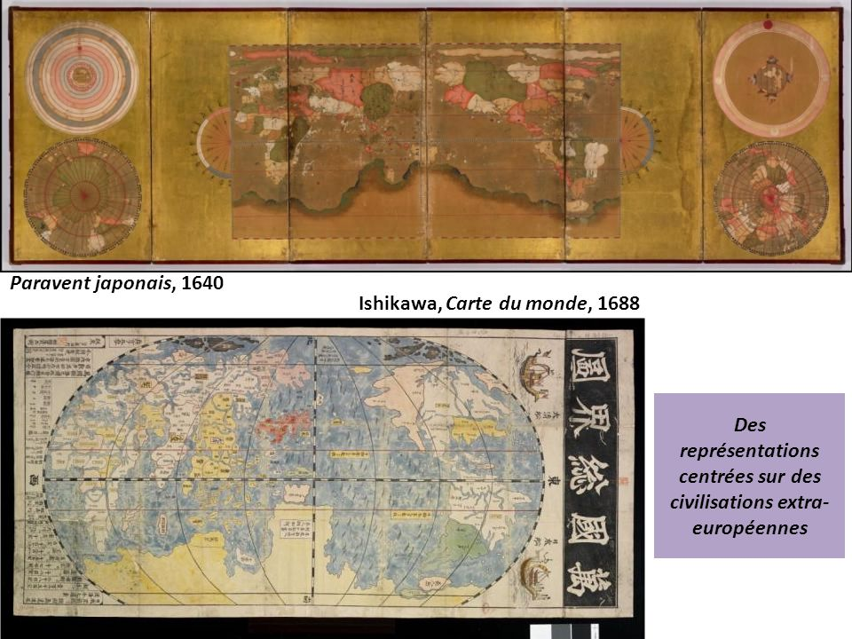 Ishikawa, Carte du monde, 1688