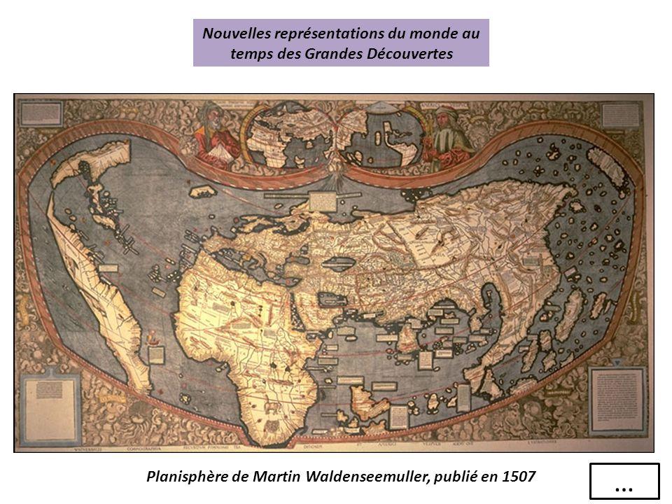 Nouvelles représentations du monde au temps des Grandes Découvertes