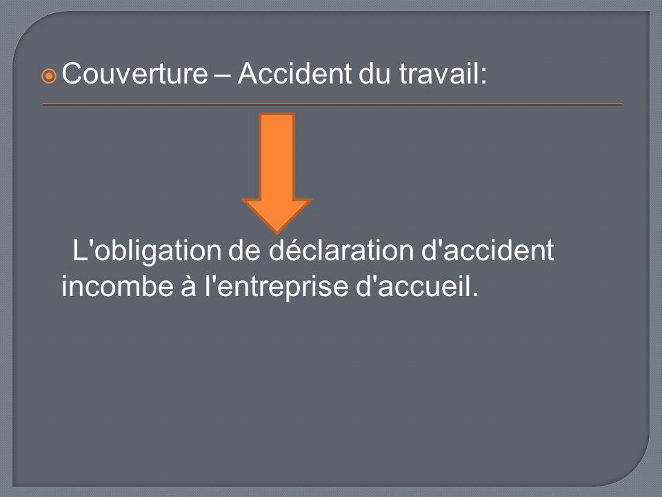 Couverture – Accident du travail:
