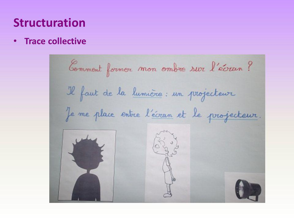 Structuration Trace collective