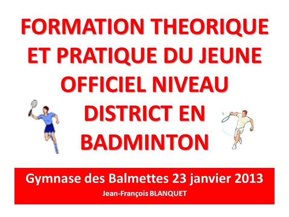 Gymnase des Balmettes 23 janvier 2013 Jean-François BLANQUET