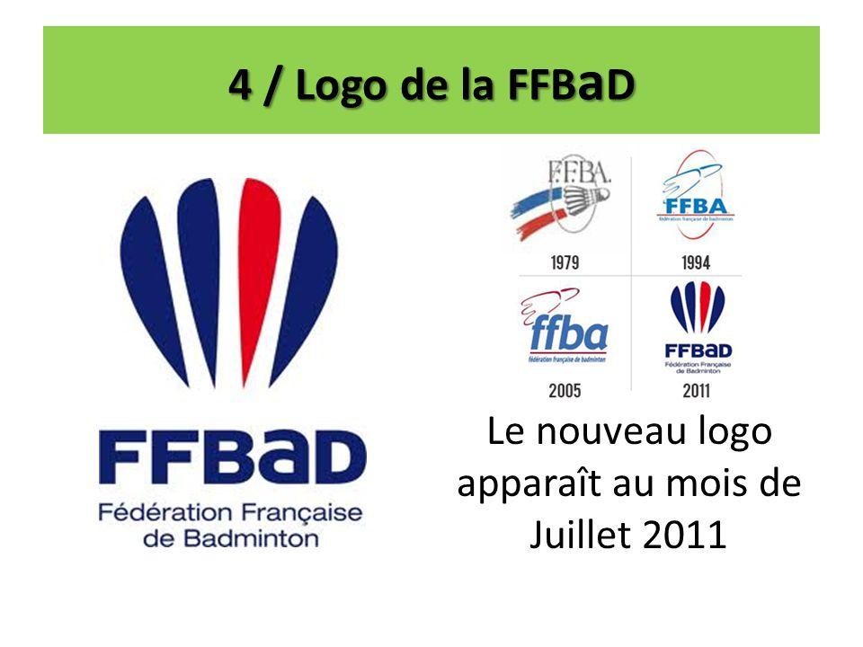 Le nouveau logo apparaît au mois de Juillet 2011