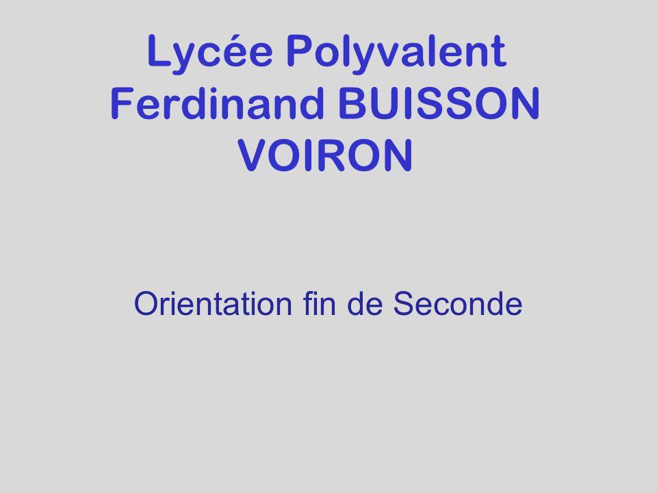 Lycée Polyvalent Ferdinand BUISSON VOIRON