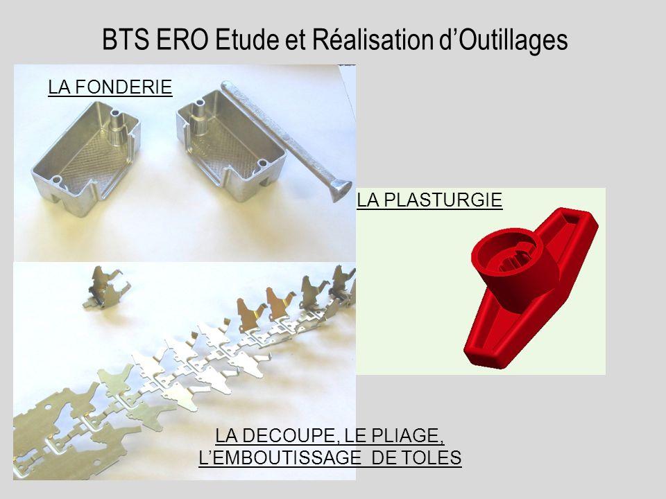 BTS ERO Etude et Réalisation d'Outillages
