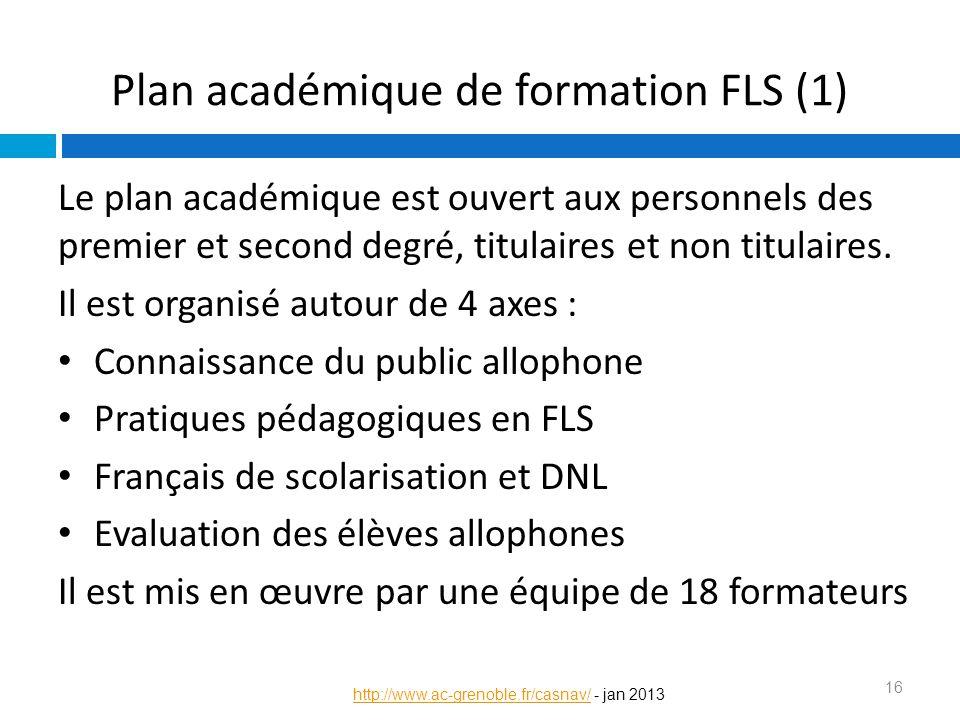Plan académique de formation FLS (1)