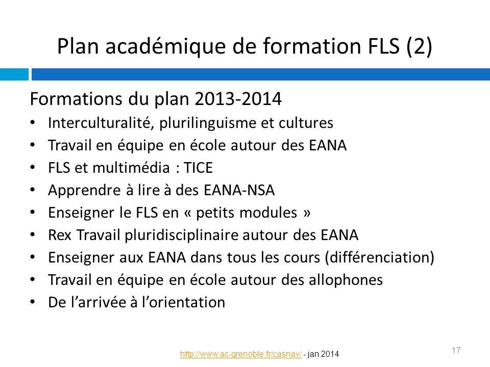 Plan académique de formation FLS (2)