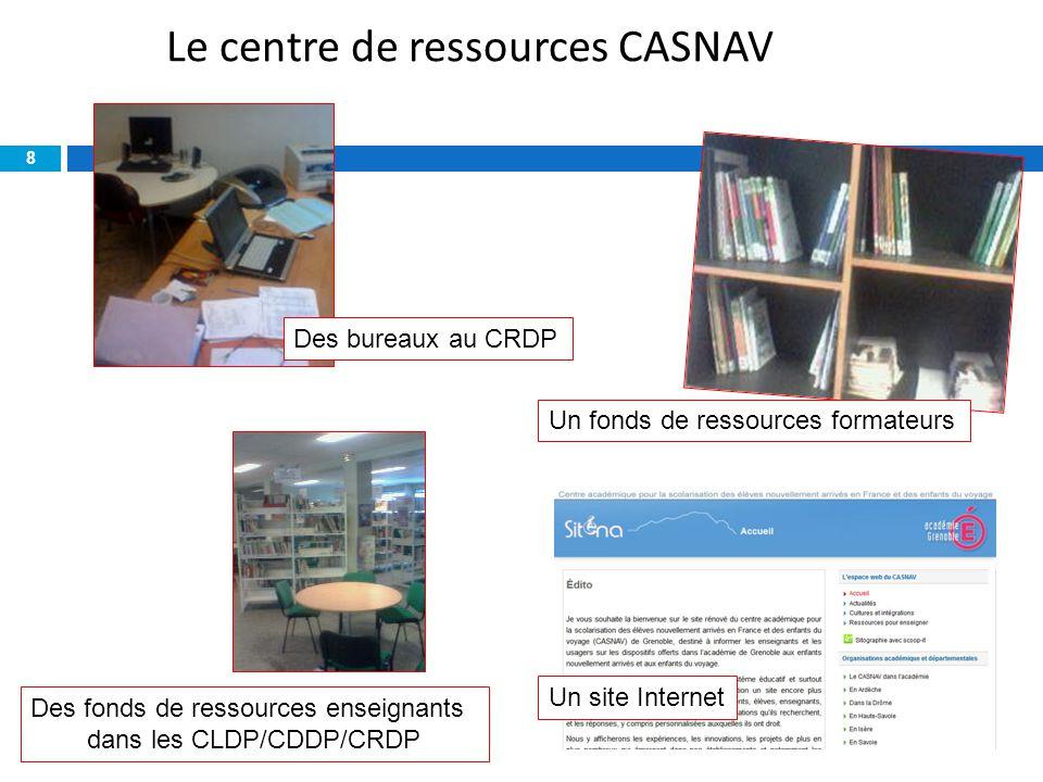 Le centre de ressources CASNAV