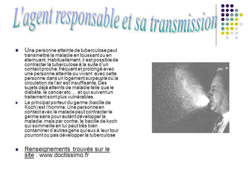 L agent responsable et sa transmission